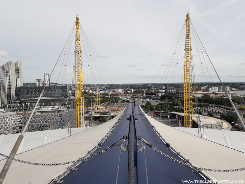 Up at The O2 - Climbing The O2 in London