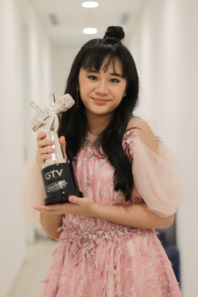 Pemenang The Voice Kids Indonesia Season 4, Nikita Siap Ikuti Rekaman