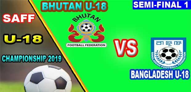 Bhutan U18 vs Bangladesh U18 Live