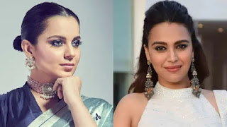 Kangana-Ranaut-called-swara-bhaskar-B-grade-hyena-in-respond-to-her-item-number