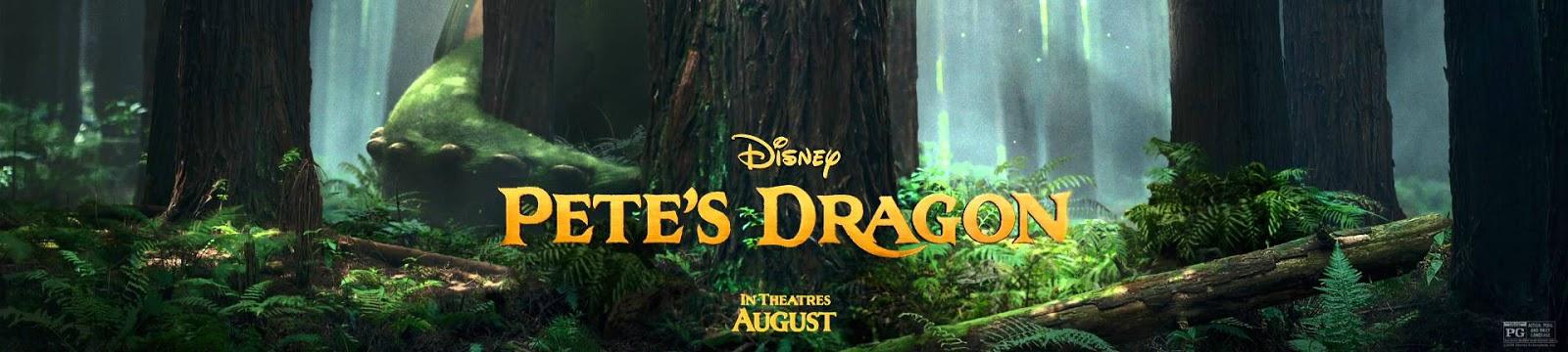 Pete's Dragon (2016) Banner