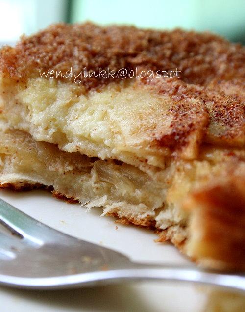 Ingredient Cinnamon Apple Cake