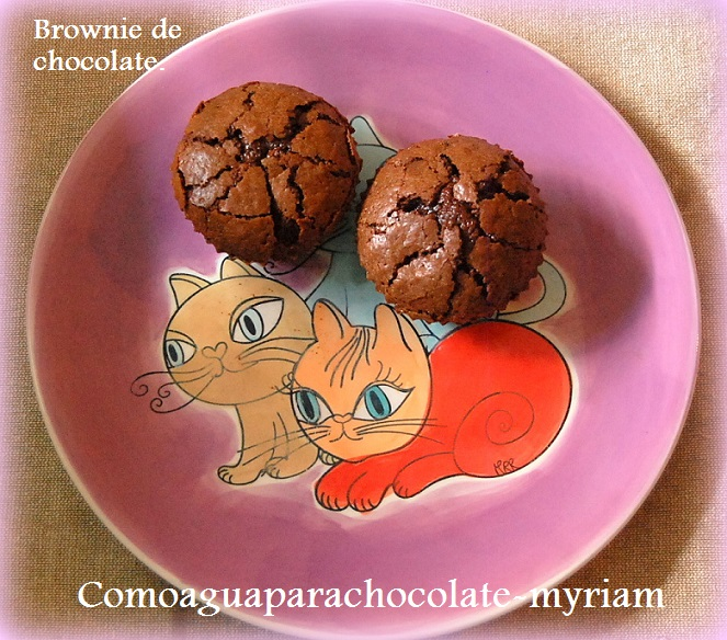 Brownie De Chocolate.