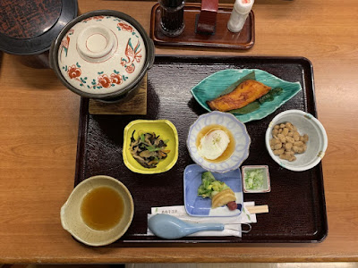 旅館大沼の朝食