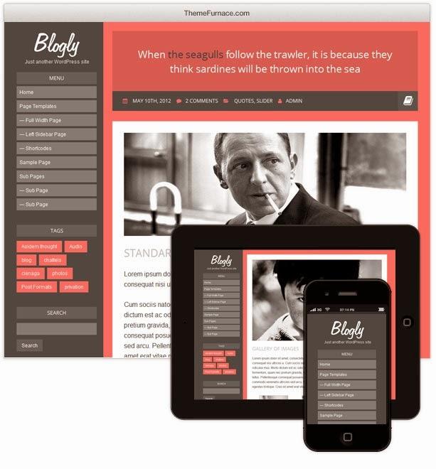 Blogly Lite theme