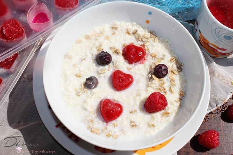 Owocowe kostki oraz inne kształty - super dodatek nie tylko do jogurtu, owsianki i wody