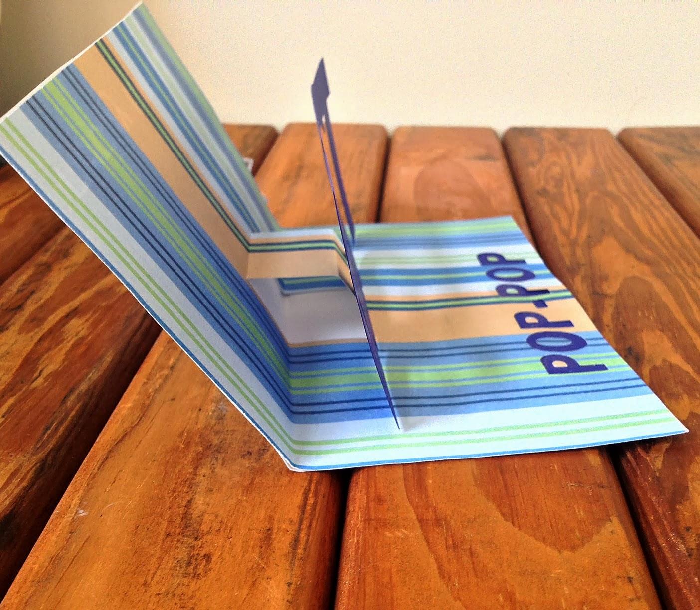 Pop-up card, Silhouette, tutorial, Silhouette Studio, free template