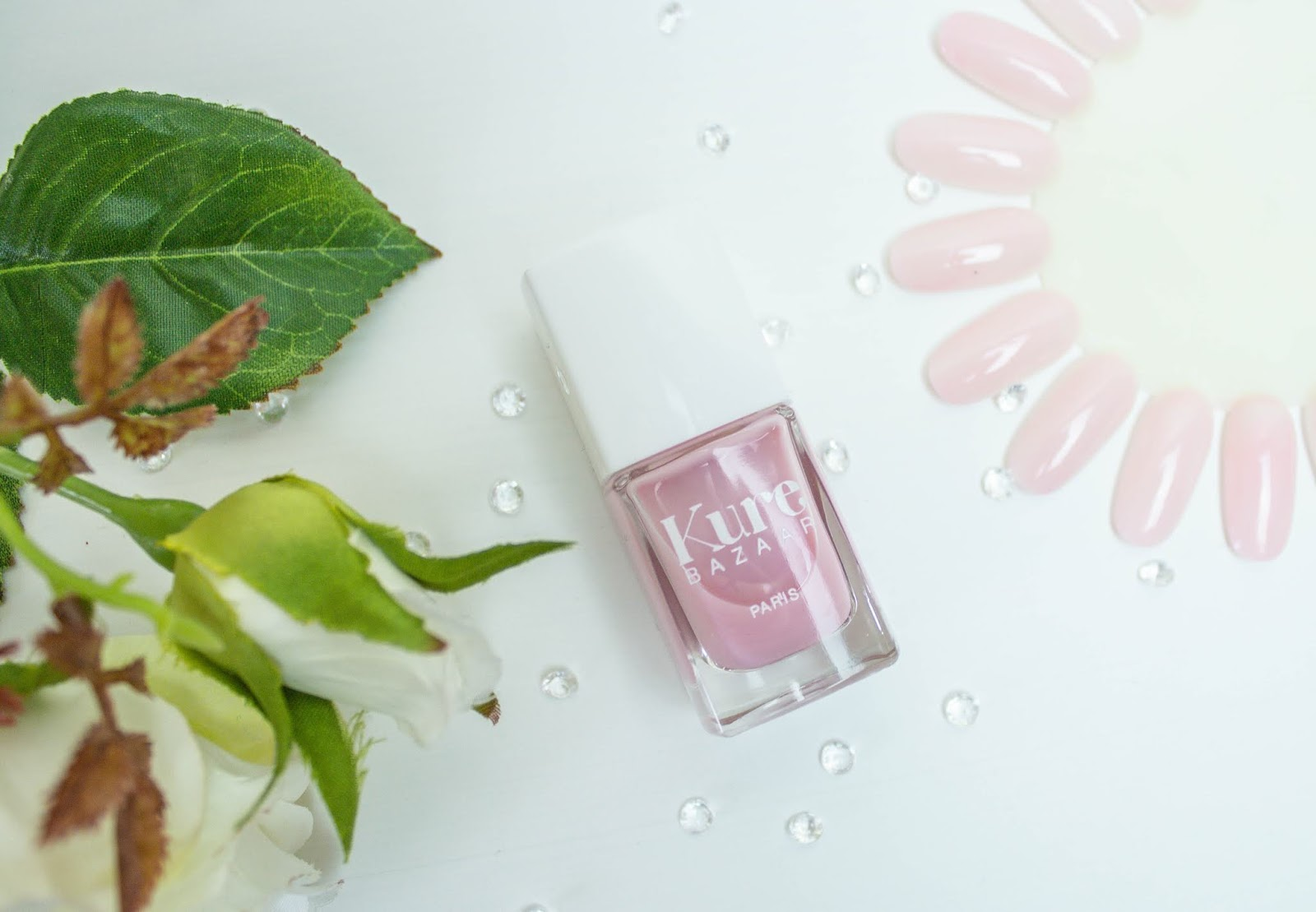 The Prettiest Summer Nail Varnish Colours from Kure Bazaar - French Rose Glow