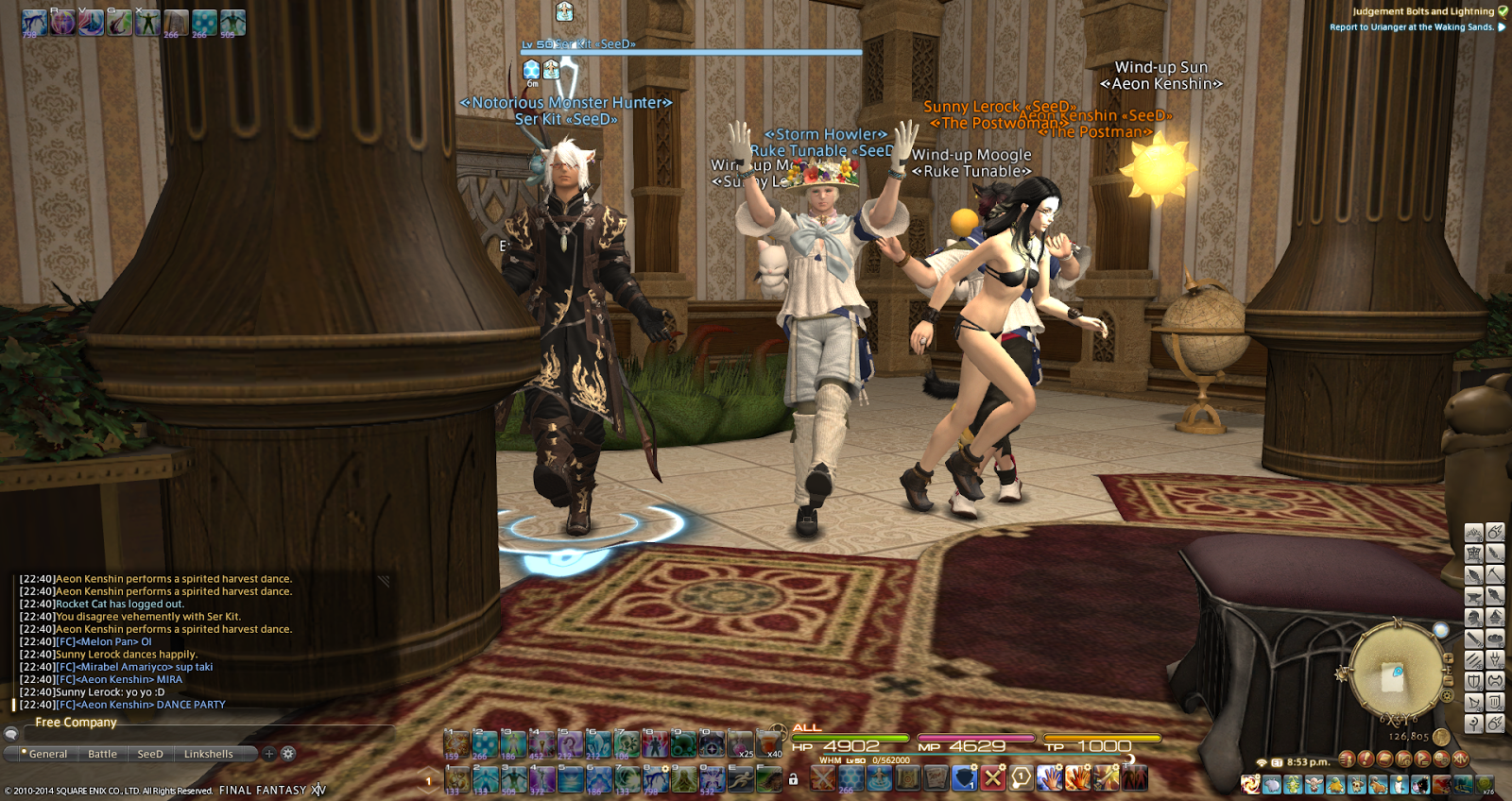 A Tank and a Healer.: These clowns wont let me sleep.