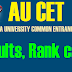 Manabadi AUCET 2018 Results Released Andhra University AUCET, AUEET 2018 Rank Card @ audoa.in