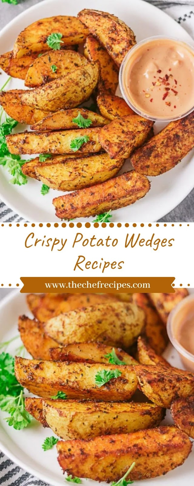 Crispy Potato Wedges Recipes