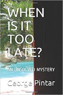 The book cover of my book: When is It Too Late? - An Unsolved Mystery
