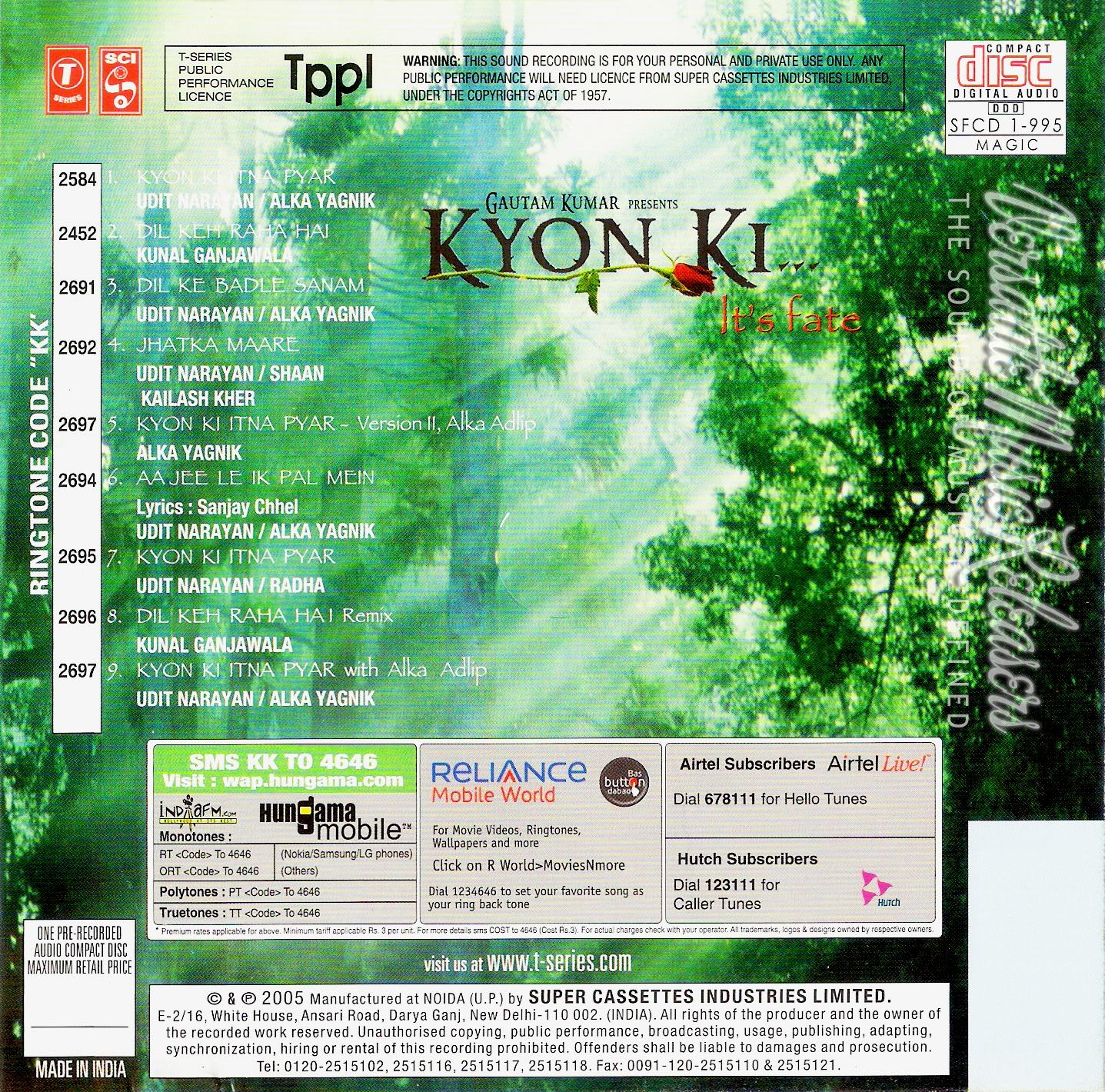 Download Film Kyon Ki 2005