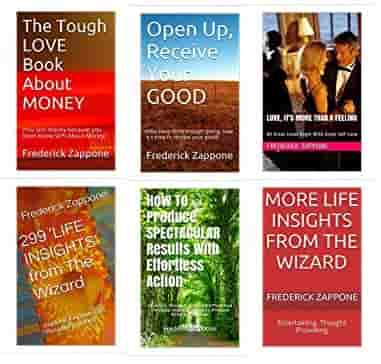 Inspirational Books By Frederick Zappone