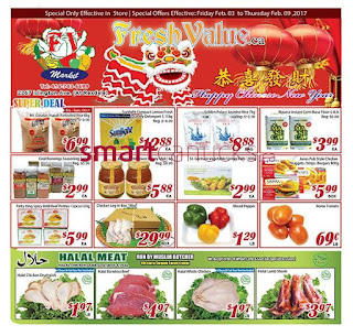 Fresh Value weekly Flyer February 3 – 9, 2017