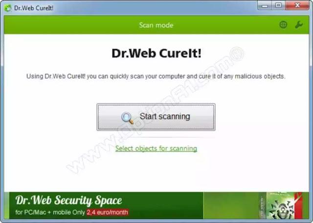 """تنزيل برنامج Dr.WEB CureIt اخر اصدار- مضاد الفيروسات للكمبيوتر ويندوز"""" نسخه محموله"""""""