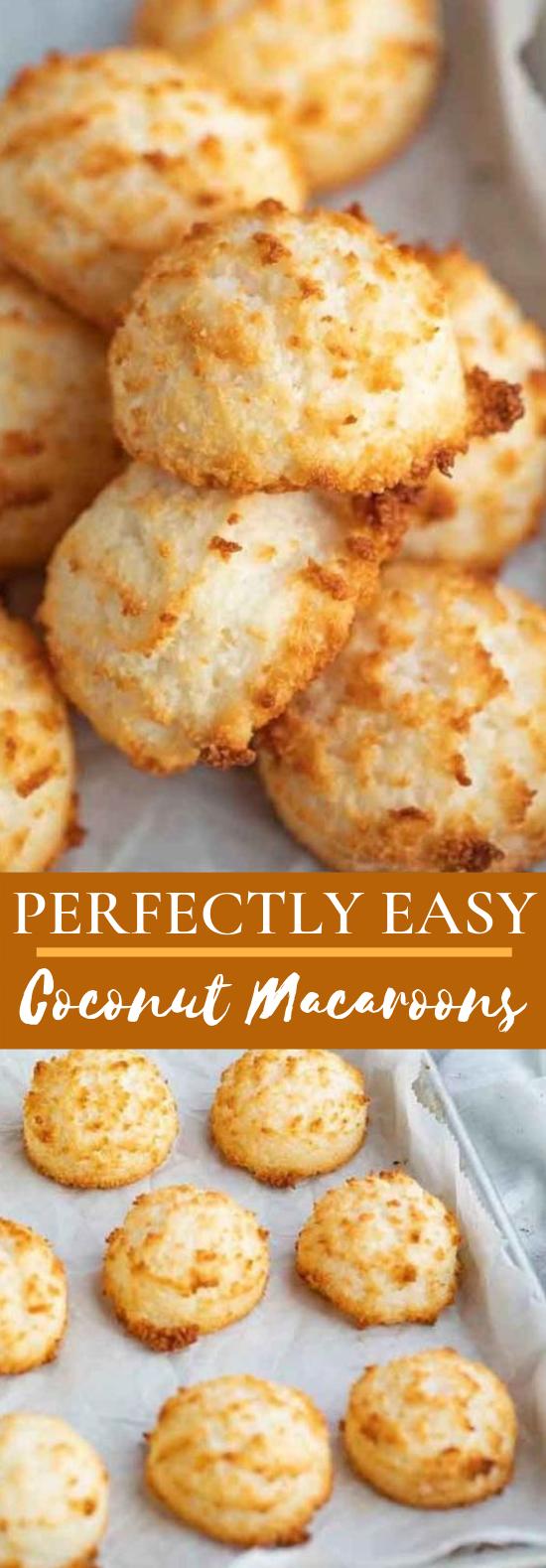 Coconut Macaroons #desserts #cookies