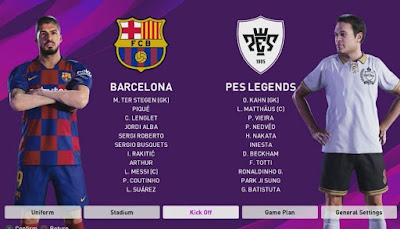 eFootball PES 2020 تحميل لعبة