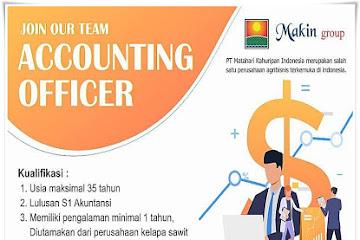 Lowongan Kerja Bandung Accounting Officer Makin Group