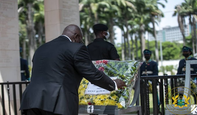Akufo-Addo declares Seven days of National mourning