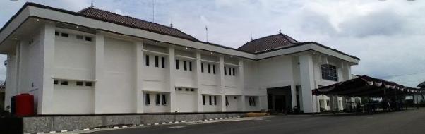 Gedung Kantor Bupati Kabupaten Ogan Komering Ulu (OKU)
