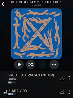 X Japanの名アルバム『Blue Blood』