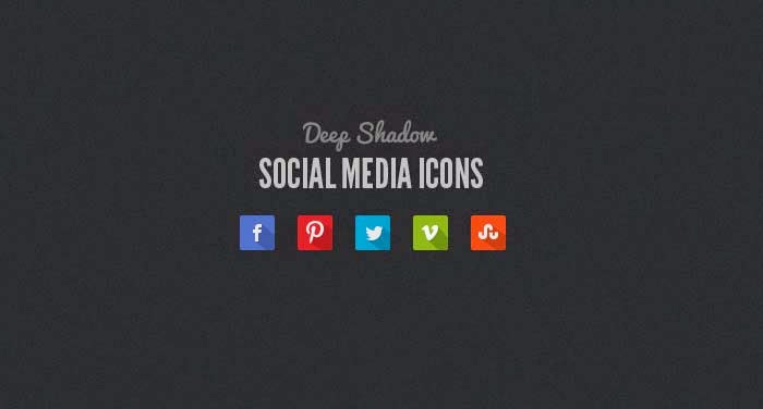 55 Best Free Flat Social Media Icon Sets