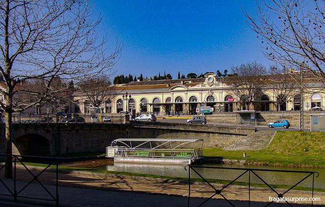 Canal du Midi, Carcassonne, França