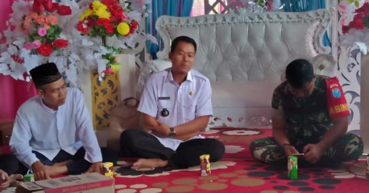 Ulama dan Umara Kecamatan Kapuas Barat Persiapkan Kegiatan Sholat Istisqa' di Lapangan Beruk Ambung Mandomai