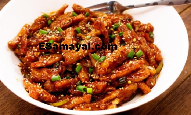 தேன் உருளைக்கிழங்கு ஃபிரை ரெசிபி   Honey Potato Fry Recipe !
