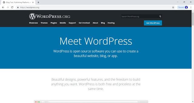 WordPress.org (https://wordpress.org/)
