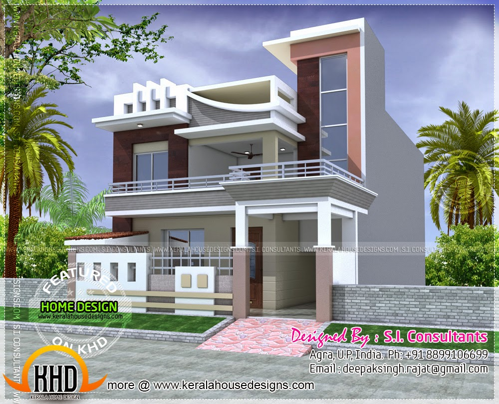 Plan available modern house home kerala plans for Modern house 49