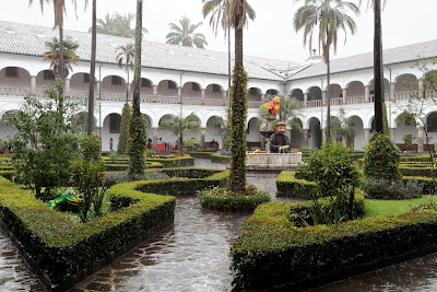 Inside Convent of San Francisco - Quito