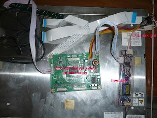 Lampu Panel LCD