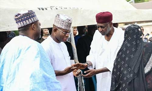Abba Kyari allegedly visited Kogi state Governor after his trip from Germany