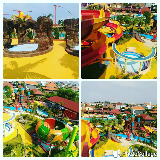 foto wahana di dynasty water world
