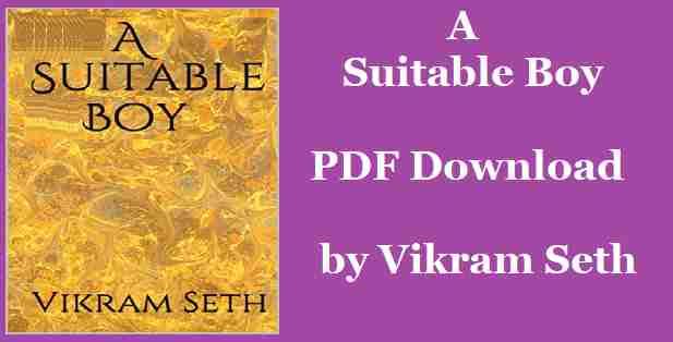 A Suitable Boy by Rabindranath Tagor PDF Download