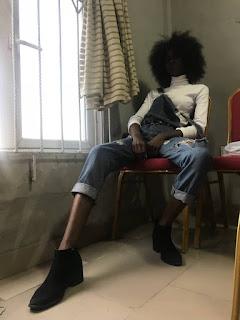 Jane Tialobi @ Claridan TV