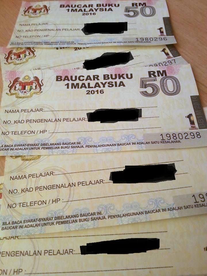 Baucar Buku 1 Malaysia Dah Dapat Yeay!