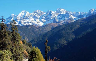 Kanchenjungha National Park in Sikkim