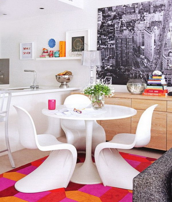 Kitchens With Dining Area Layouts In Small Spaces 3