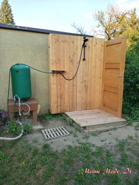 DIY Gartendusche - Outdoor shower