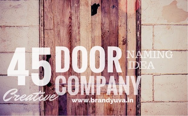 door company brand names idea list