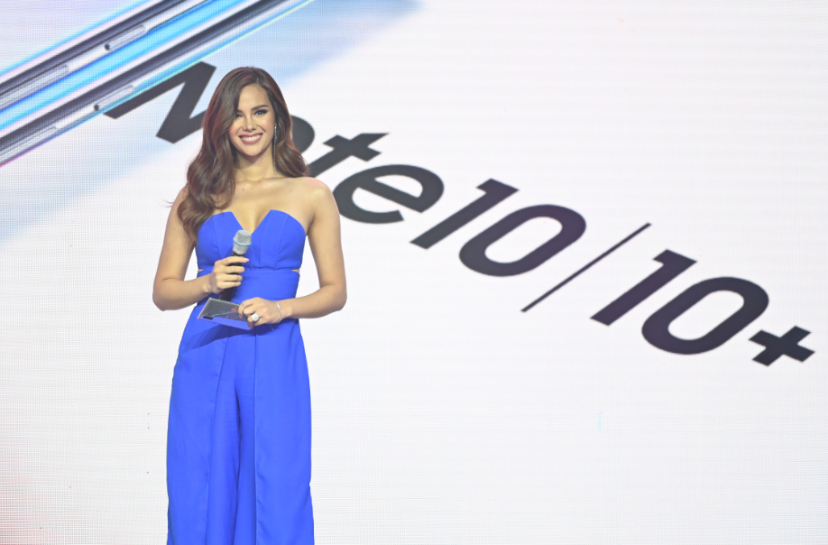 SAMSUNG Galaxy Note 10 | Note10+ Ambassador and Miss Universe 2018 Catriona Gray
