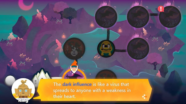 Ring Fit Adventure Finalia Dark Influence virus spreads weakness heart