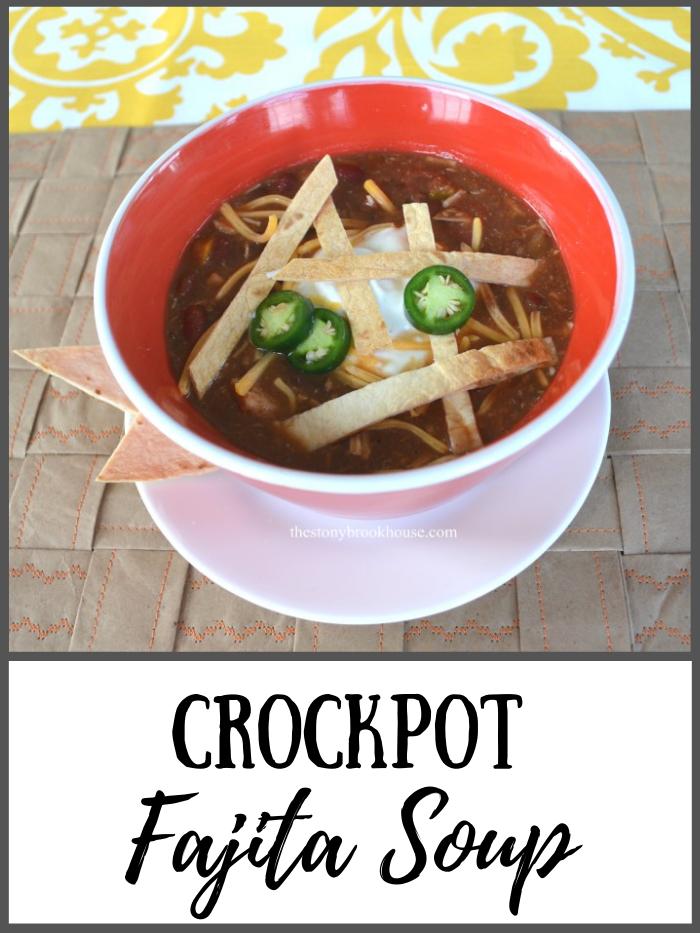 Crockpot Fajita Soup