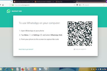Cara Membuka WhatsApp di Komputer / Laptop