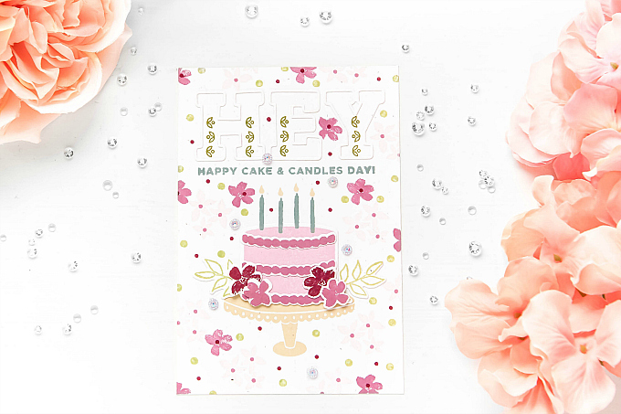 Happy Cake and Candles Day - Pinkfresh Studio
