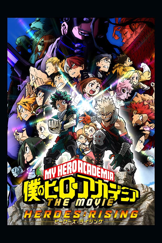 My Hero Academia: Heroes Rising (2019) Full HD 1080p Latino