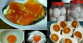 ไข่เค็มดองน้ำเกลือ สูตรนี้ทำง่ายเค็มกำลังดี ไข่แดงสีสวยน่าทาน